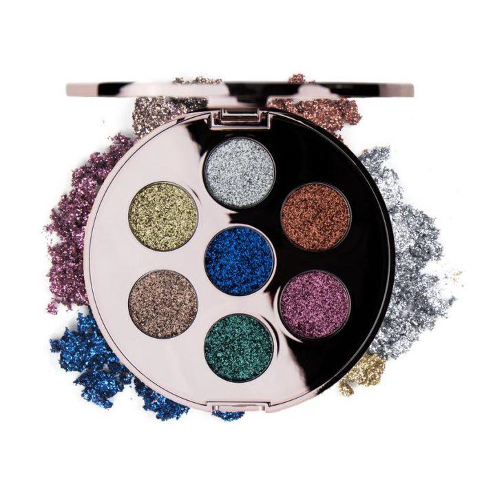Pressed Glitter Palette - Augnskuggar - Contour Cosmetics - förðunarvörur