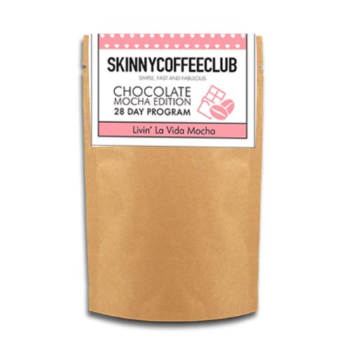 SKINNY COFFEE CLUB CHOCOLATE MOCHA Heilsukaffi - Skinnycoffee - Skinnykaffi - Skinny Coffee Club - Törutrix Förðun