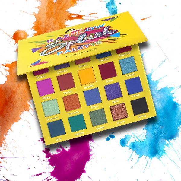 Rainbow Splash Paletta - Snyrtivörur - förðunarvörur