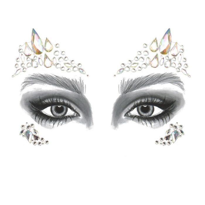 Andlitssteinar - Glimmersteinar - Go Get Glitter - Törutrix - Förðunarvörur - Makeup